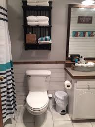 ideas for guest bathroom guest bathroom redo with shiplap concrete counter top hometalk