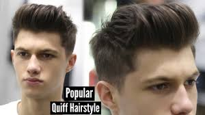 Mens Business Hairstyle by Mens Haircut 2017 Modern Quiff Hairstyle Tutorial Ad Youtube