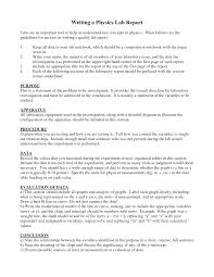 lab report conclusion template physics lab report template 4 best and professional templates
