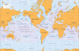 Map Of Ocean Currents Ms Ess Four Cities Complete Docx