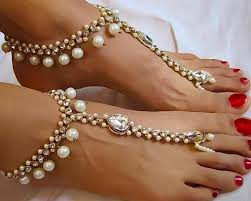 wedding barefoot sandals buy pearl wedding barefoot sandals at kandy couture