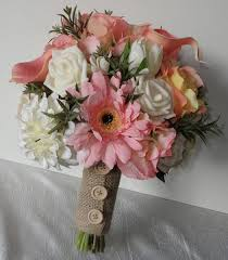 silk wedding bouquet silk wedding bouquets the floral touch uk south
