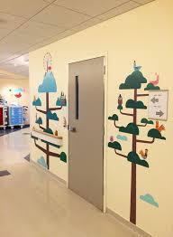 Treehouse Pediatrics Lake Nona - custom wall mural designed u0026 installed by blik for the pediatric