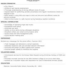Resume Templates For Truck Drivers Entry Level Truck Driver Resume Sle Http Resumesdesign Com
