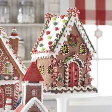 Home Decoration Com by Gingerbread House Christmas Decoration 13 5 In Raz 3116172