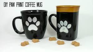 diy paw print coffee mug for dog lovers the barkpost