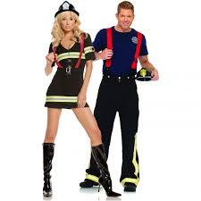 costumes for couples fireman and firefighter couples costume