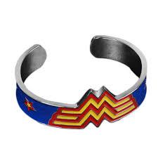 cuff metal bracelet images Wonder woman cuff metal bracelet bangles moovie shop jpg