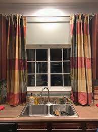 Curtain Sink by Makeovermonday Transforming The Kitchen Sink Window To Christmas