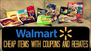 walmart coupon deals cheap items