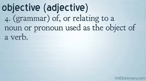 resume objective definition objective definition youtube