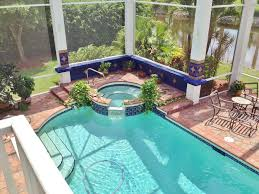 swimming pool with exterior tile floors u0026 pool with tub in
