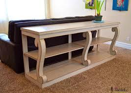 Narrow Sofa Tables Sofa Fabulous Diy Simple Sofa Table Diy Simple Sofa Table Simple