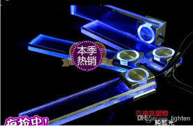 Car Led Interior Lights Best A 4 In 1 Car Led Interior Ambient Lighting Atmosphere