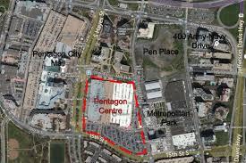 pentagon map pentagon city costco best buy in line for big redevelopment