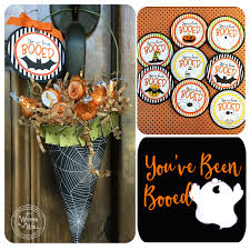 halloween booed printables it u0027s written on the wall gotta see