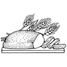 Bread Coloring Page bread coloring pages for your one