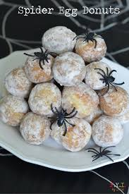 fun halloween food spider egg donuts u2022 fyi by tina