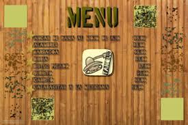 customizable design templates for restaurant menu poster
