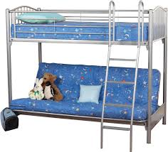 Metal Triple Bunk Bed Garnet Sweet Dreams - Dreams bunk beds