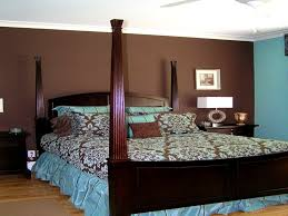handsome brown bedroom ideas blue and paint walls leather couches