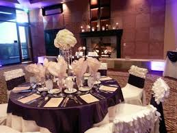 eggplant colored table linens found on weddingbee com share your inspiration today inspiration