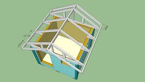 Plans To Build A Firewood Shed by Wooden Playhouse Plans Howtospecialist How To Build Step By