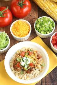 easy crock pot chicken burrito bowls two healthy kitchens