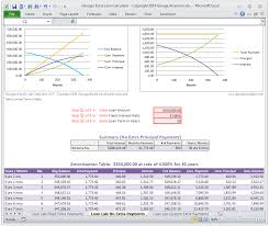 Excel Mortgage Calculator Template Mortgage Calculator And Amortization Table With Payments