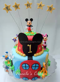 mickey mouse first birthday cake 2 best birthday resource gallery