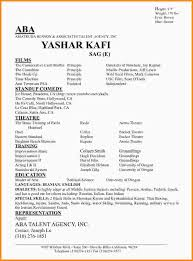 Special Skills Theatre Resume What To Put On A Resume For 28 Images What Not To Put On Your