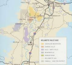 Oregon Winery Map by Trip To The Willamette Valley 1 4 Geography Climate Ava Info Wine