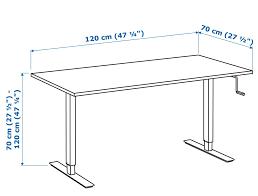 Ikea Adjustable Height Standing Desk Ikea Skarsta Is A Solid Adjustable Size Standing Desk At A