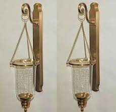 Flameless Candle Wall Sconce Set 2 Elk Lighting Lincoln Square One Light Polished Nickel Sconce
