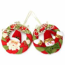 1pc wreath decoration hotel festive supplies elderly