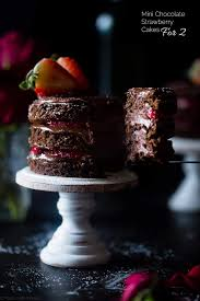 strawberry gluten free chocolate cake for two food faith fitness