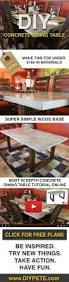 best 25 concrete dining table ideas on pinterest concrete table