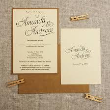 wedding invitations nz kraft rustic wedding invitations be my guest