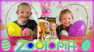 Decorating Easter Eggs by Disney Zootopia Coloring Easter Eggs With Disney Zootopia Easter