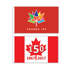 canadian flag maple leaf banner giant size 60 x 36 inch amazon ca