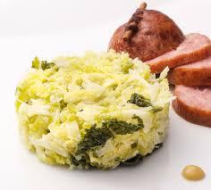 comment cuisiner chou vert recette embeurré de chou accompagnements