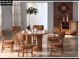 Indoor Wicker Dining Chairs Collection Of Dining Room Furniture - Wicker dining room chairs