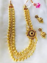 fashion jewelry necklace sets images Imitation kundan long necklace sets south india jewels jpg