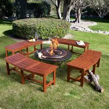 lovely image of fire pit bench furniture designs furniture designs