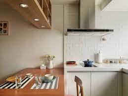 apartment white and wood colored small kitchen decor ideas and full size of apartment small kitchen apartment ideas with white brick walls and long polished dining