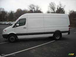 2008 arctic white dodge sprinter van 3500 high roof 170 cargo