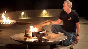 How To Make A Fire Pit In The Backyard by How To Start A Fire The Easy Way Youtube
