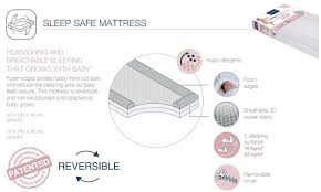 candide sleep safe mattress 70x140cm pupsik singapore