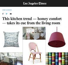 Los Angeles Times Home And Design La Times Homey Kitchen Comfort U2014 Cloth U0026 Kind