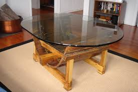Glass Top Dining Tables With Wood Base Fancy Coffee Table Wood Base Glass Top Coffee Table Wood Base